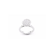 Funghetti 18kt White Gold Diamond Ring (Large)