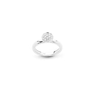 Funghetti 18kt White Gold Diamond Ring (Small)