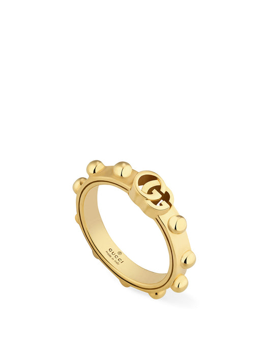 Gucci GG Running Ring in 18k Yellow Gold