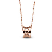 Gucci Icon Necklace in 18k Pink Gold