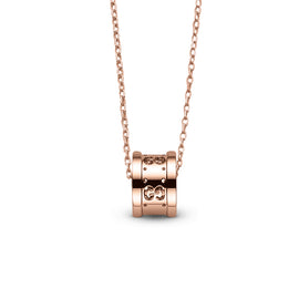 Icon Necklace in 18k Pink Gold