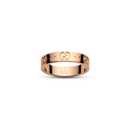 Gucci Icon Ring in 18k Pink Gold