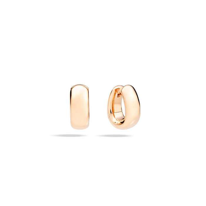 Iconica Earrings in 18k Rose Gold