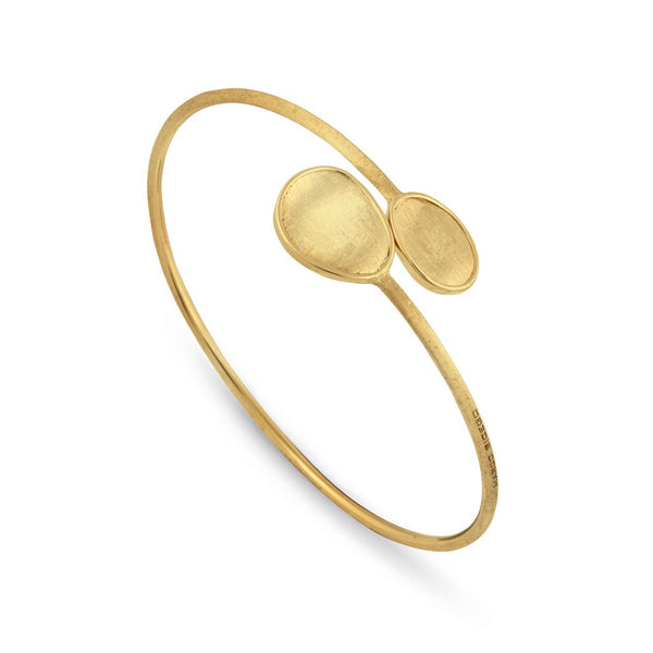 Lunaria 18K Yellow Gold Hugging Bangle