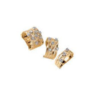 Marco Bicego Marrakech rings - 18k gold & diamonds
