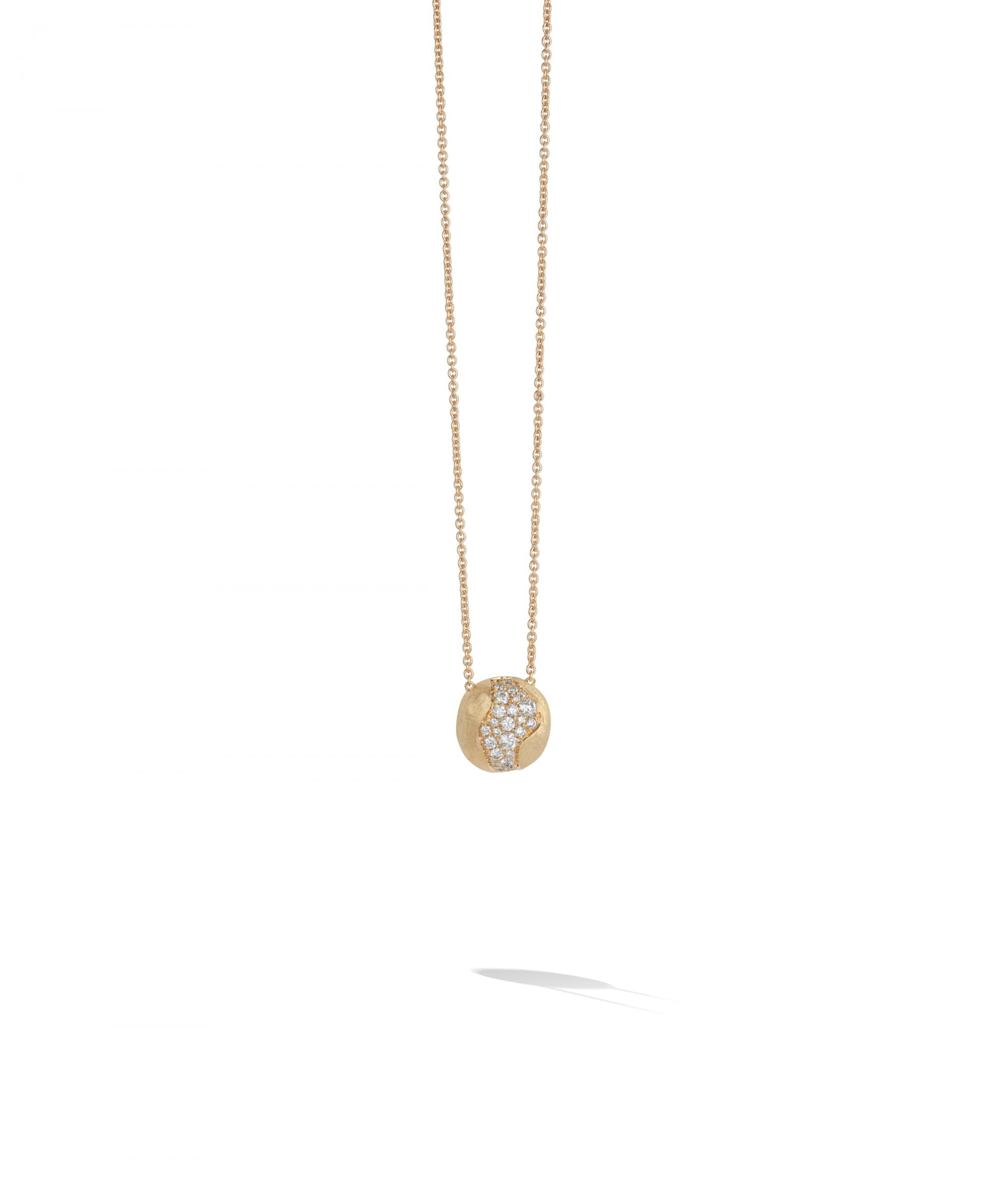 Marco Bicego Africa Constellation Necklace in 18k Yellow Gold with Diamonds Short - Orsini Jewellers NZ