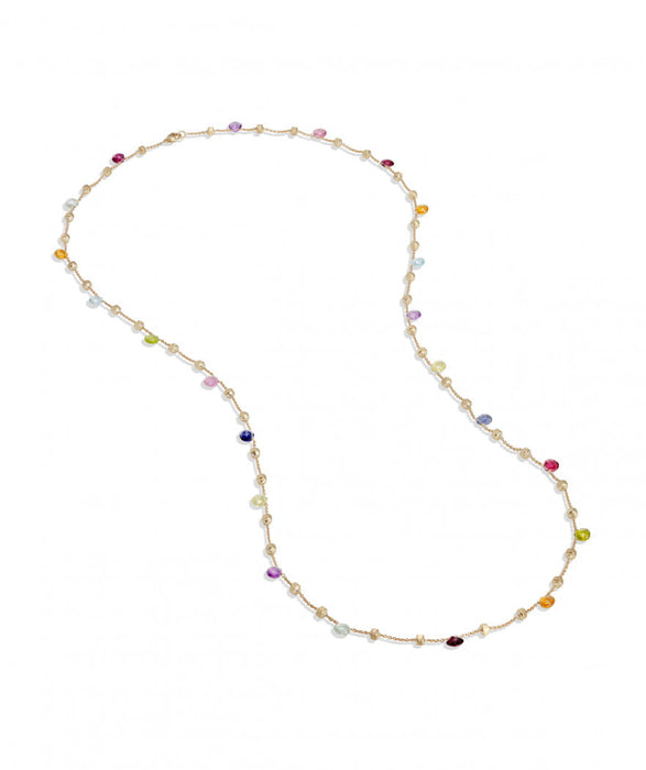 Paradise Necklace in 18k Yellow Gold with Gemstones