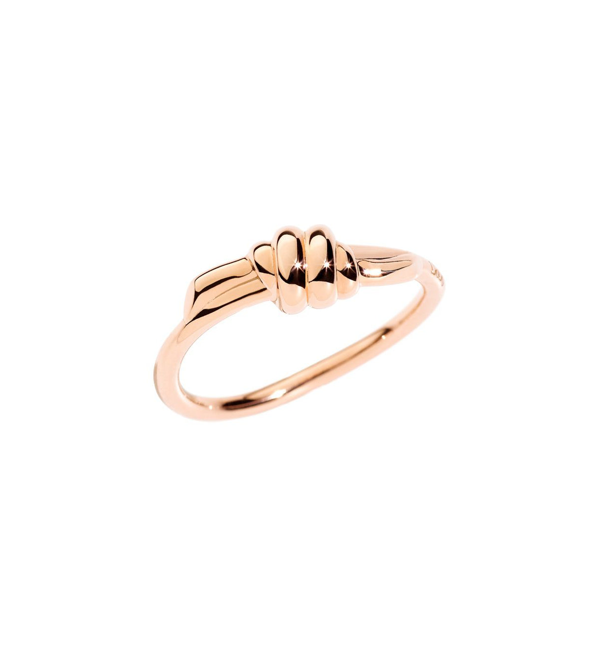 DoDo Ring Nodo in 9k Rose Gold - Orsini Jewellers NZ