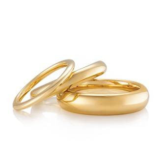 Classic Bellini Shaped Wedding Ring