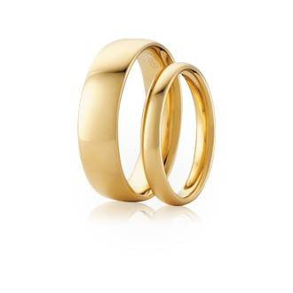 Classic Original Comfort Wedder Shaped Wedding Ring