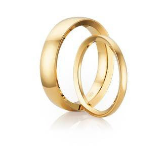 Classic Orion Shaped Wedding Ring