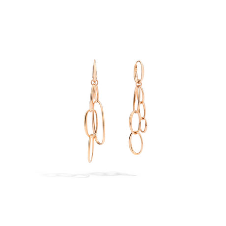 Pomellato Classica Gold Earrings in 18k Rose Gold - Orsini Jewellers NZ