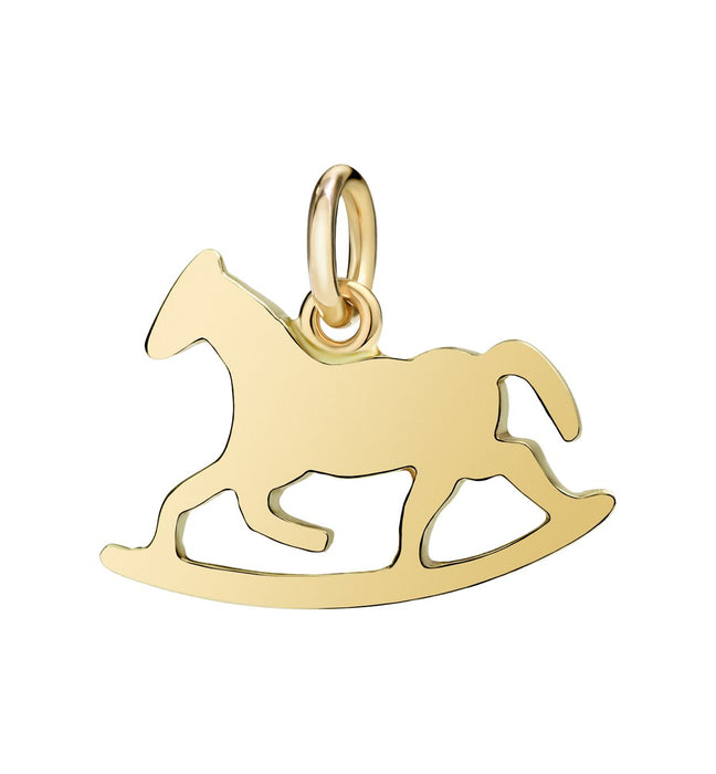 DoDo Rocking Horse in 18kt Yellow Gold