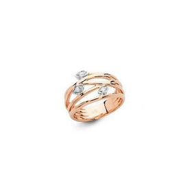 Rose Gold and Diamond Ring from the Spring Collection