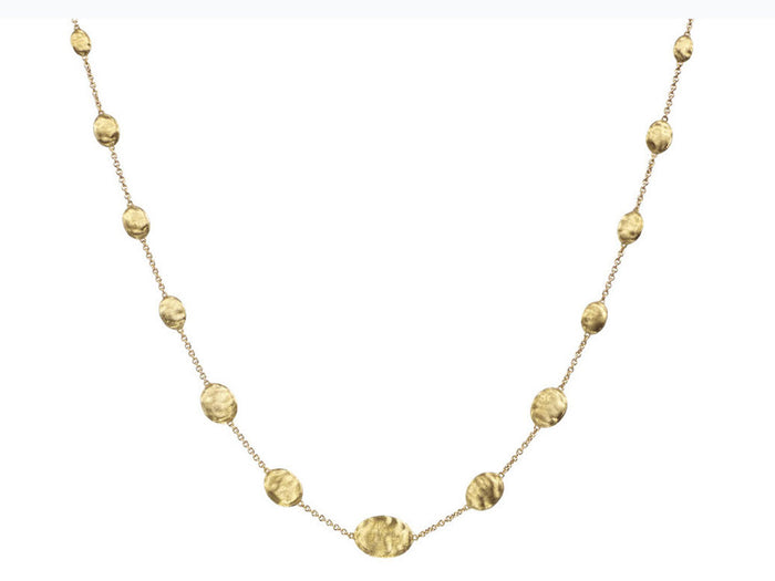Siviglia Small 18k Gold Ball 46cm Necklace