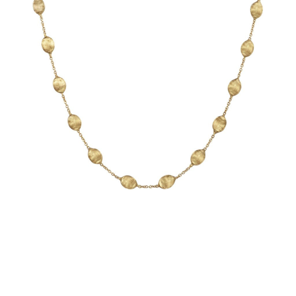 Siviglia Small 18k Gold Ball 40cm Necklace