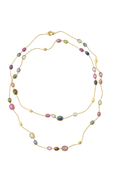 Siviglia Multi Coloured Sapphire Long Necklace