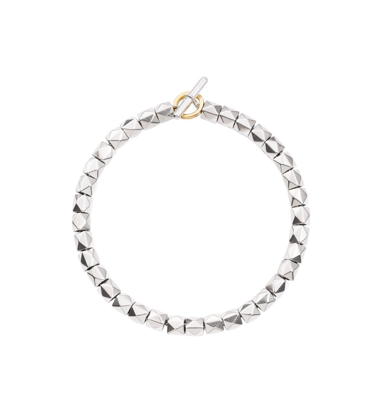 DoDo Stud Bracelet Kit in Silver with Yellow Gold Brise Ring - Orsini Jewellers NZ