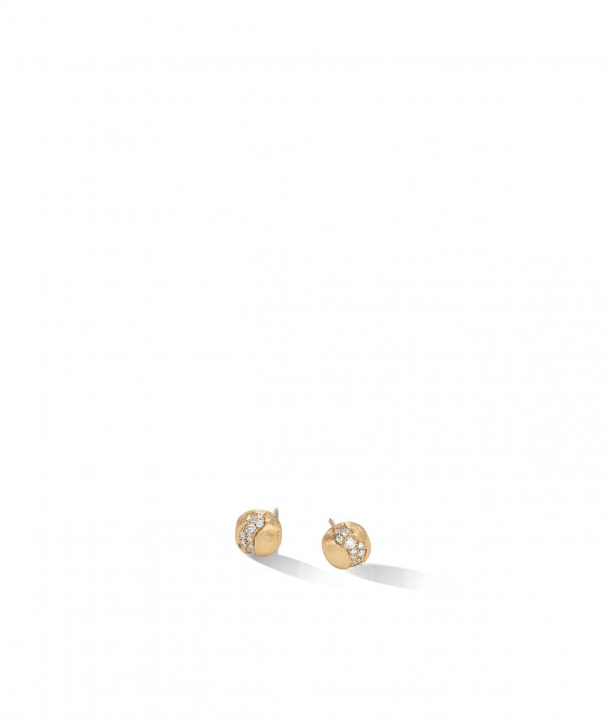 Africa Constellation Earrings in 18k Yellow Gold with Diamonds - Orsini Jewellers NZ