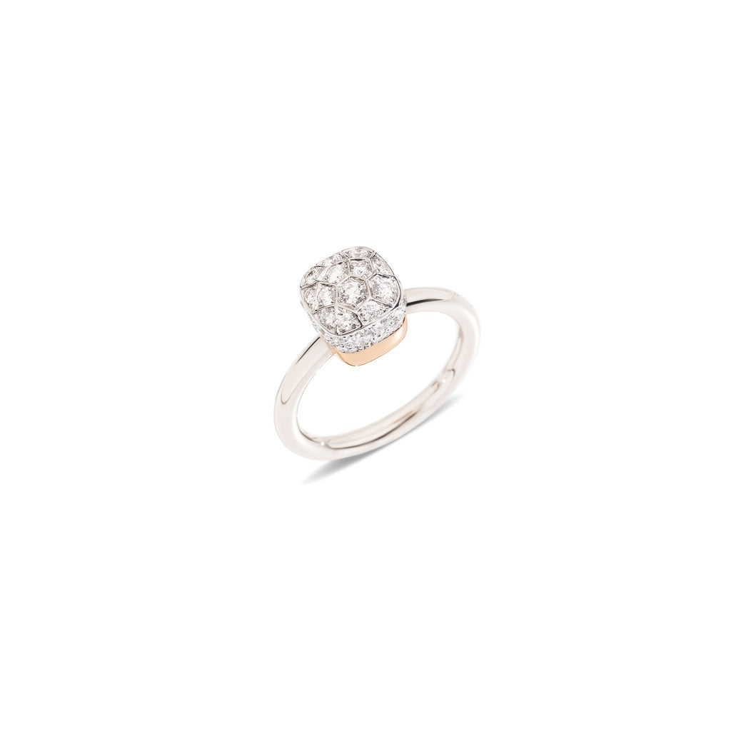 "Nudo White Diamond ""piccolo"" Small Ring"