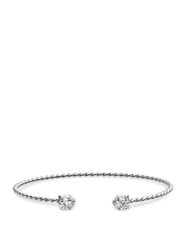 Le Marché des Merveilles Bangle in 18k White Gold with Diamonds