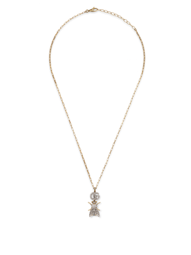 Le Marché des Merveilles Necklace in 18k Yellow and White Gold with Diamonds