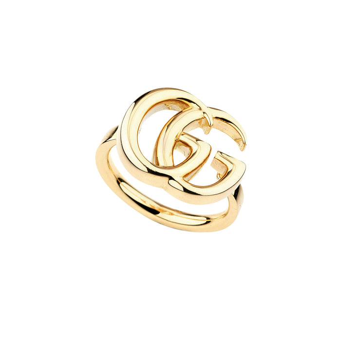 GG Running Slim Ring in 18kt Yellow Gold (Large)