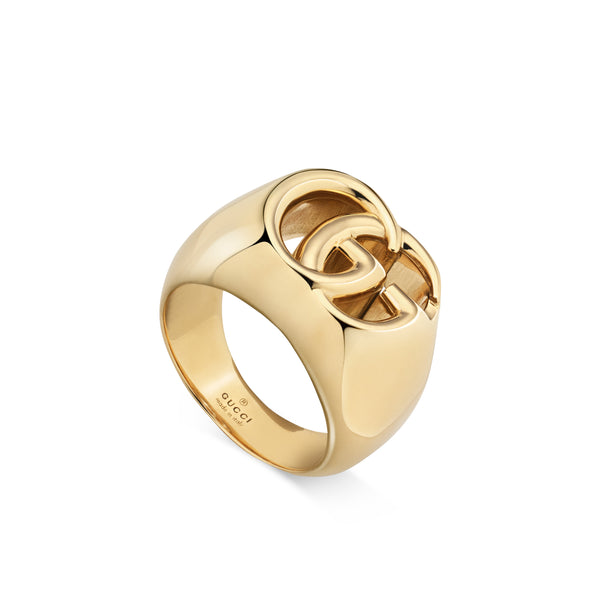 GG Running Ring in 18kt Yellow Gold (Small)