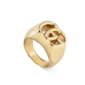 GG Running Ring in 18k Yellow Gold