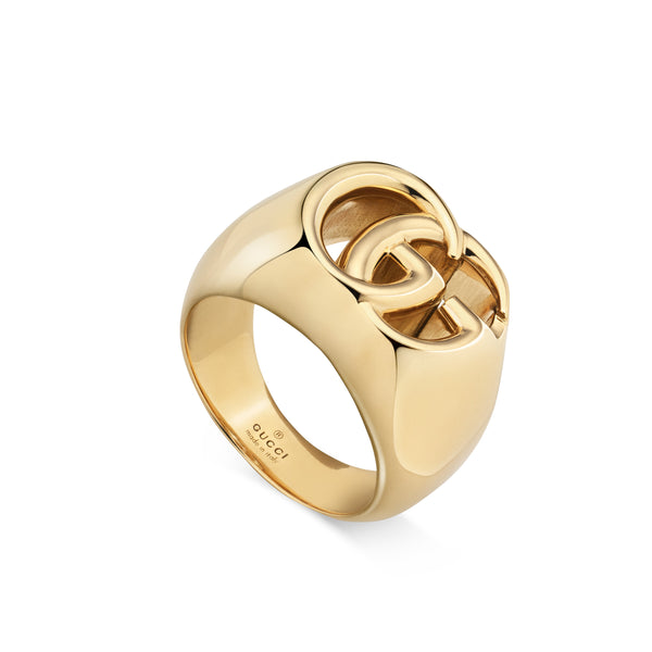 GG Running Ring in 18kt Yellow Gold (Large)