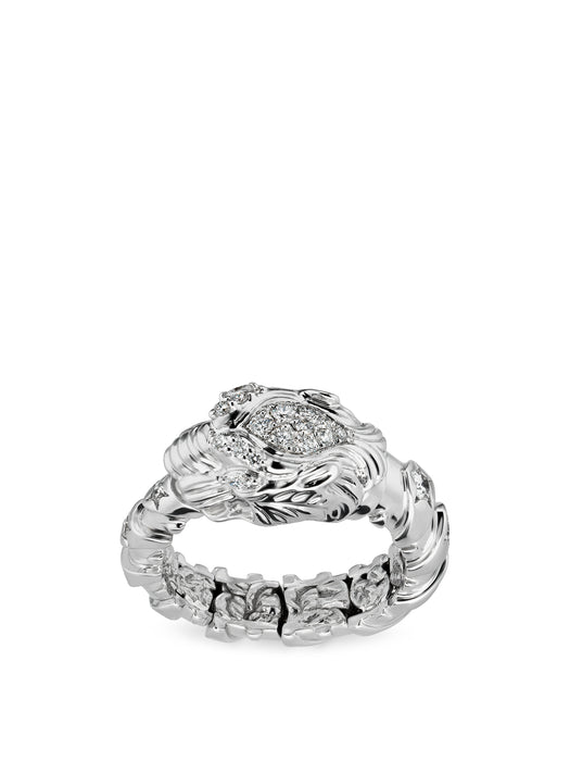 Dionysus Ring in 18k White Gold with Diamonds