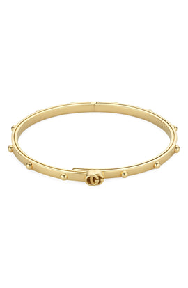 GG Running Bangle in 18k Yellow Gold