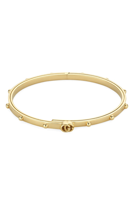 Gucci GG Running Bangle in 18k Yellow Gold