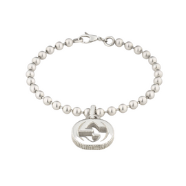 Gucci Interlocking G Bracelet in Sterling Silver