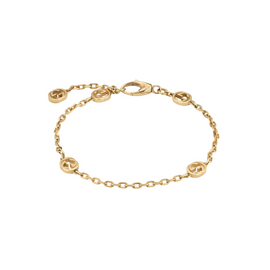 Gucci Interlocking G Bracelet in 18k Yellow Gold