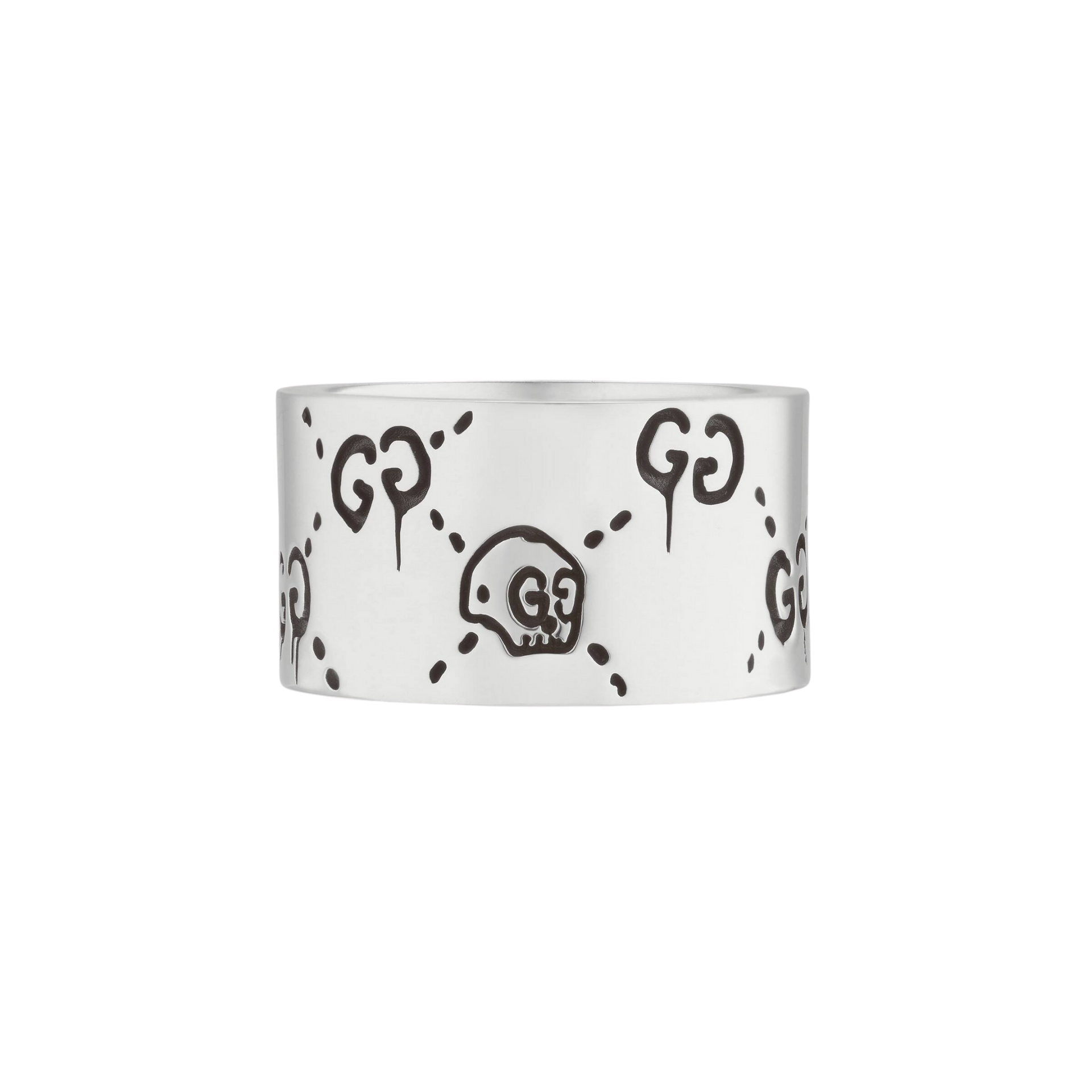 Gucci Ghost Ring in Sterling Silver - Orsini Jewellers NZ