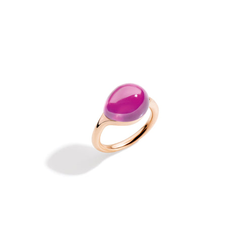 Rouge Passion Pink Sapphire Rose Gold Ring