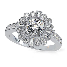 Orsini Piazza Pretoria diamond engagement ring