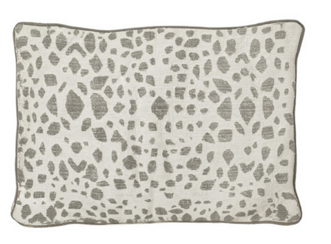 Stone Leopard Pillow Cover
