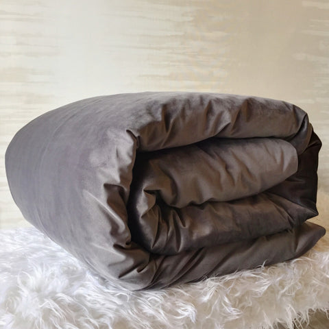 Como Duvet Cover in Charcoal