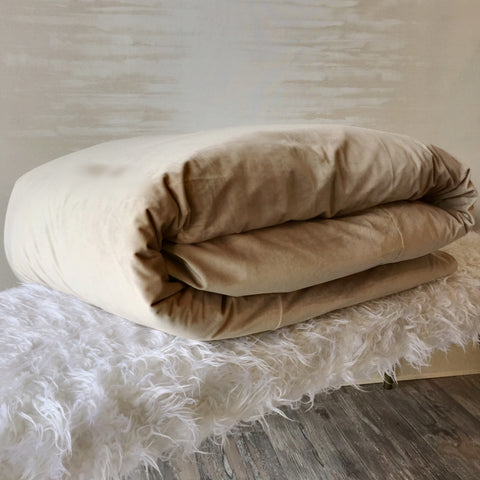 Como Duvet Cover in Beige