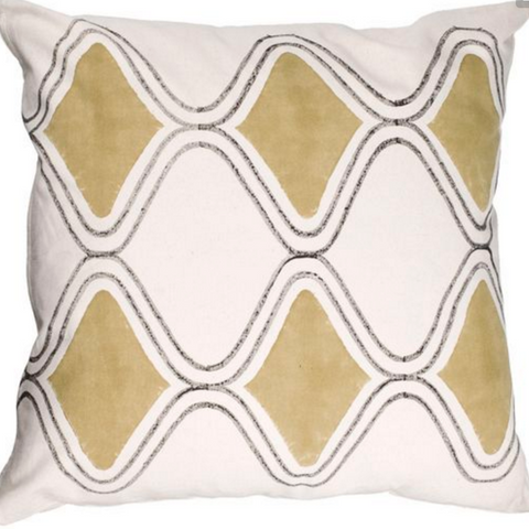 Modern Trellis Pillow Cover