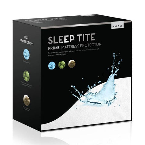 Malouf Sleep Tite Prime Terry Mattress Protector