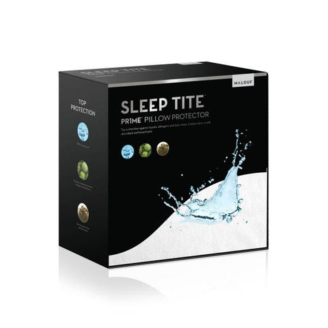 Malouf Sleep Tite Prime Terry Pillow Protector