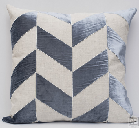 Evora Pillow - Blue