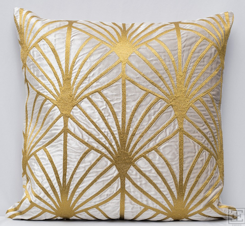 Lisbon Pillow - Gold