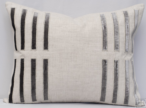 Porto Pillow - Gray