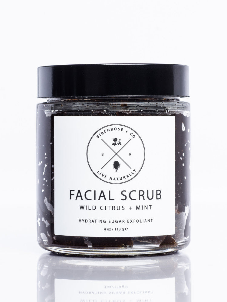 Facial Scrub - Wild Citrus + Mint