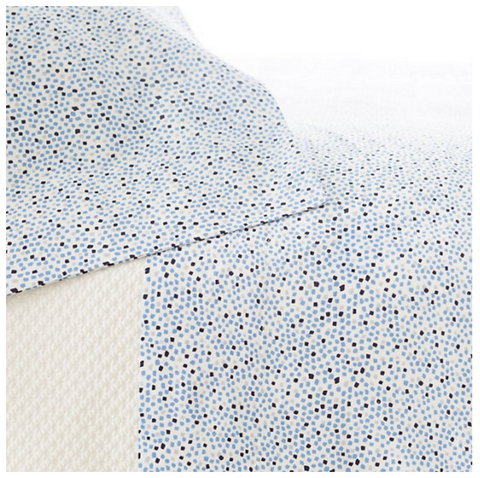 Confetti Sheet Set - French Blue/Indigo
