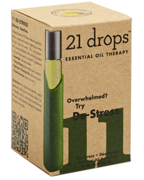 21 Drops - De-Stress Essential Oil Blend #11